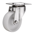 SCdn 80 колесо 200 мм неповоротное большегрузное нейлоновый контактный слой (опора поворотная)