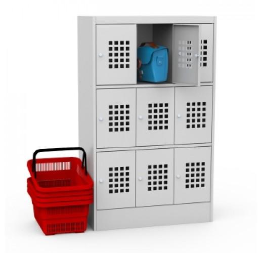 Металлический шкаф для сумок ШМ 33-30