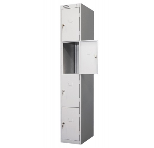 Металлический шкаф для магазина