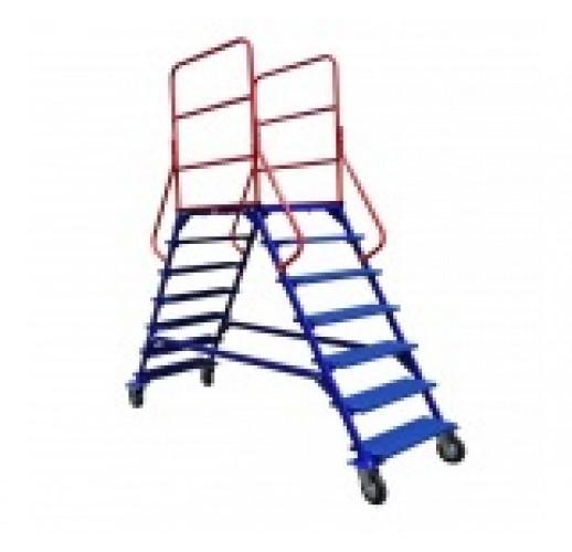 Лестницы передвижные ЛР 6.2  (6 ступеней 2 марша)