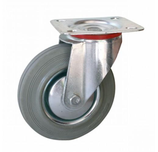 SC 55f - Поворотное, платформенное крепление, серая резина, диаметр 125 RUSKLAD