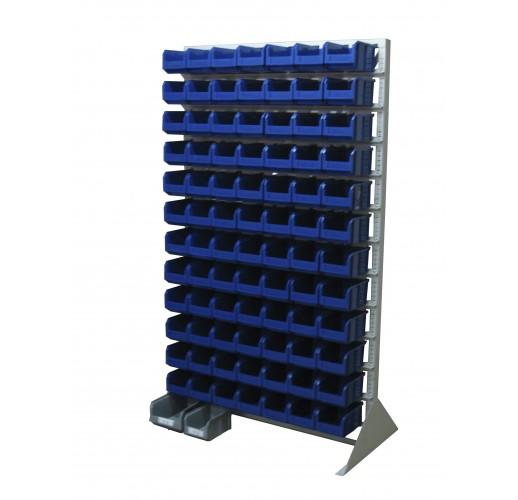 Односторонния напольная стойка с ящиками 1150х1500 Стелла С1-00-09-00