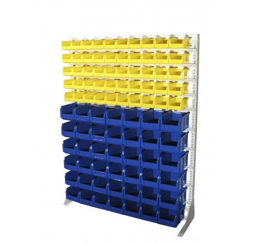 Односторонния напольная стойка с ящиками 1150х1500 Стелла С1-05-06-00