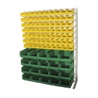 Односторонния напольная стойка с ящиками 1150х1500 Стелла С1-07-00-04