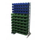 Односторонния напольная стойка с ящиками 1150х2000 Стелла В1-00-04-07