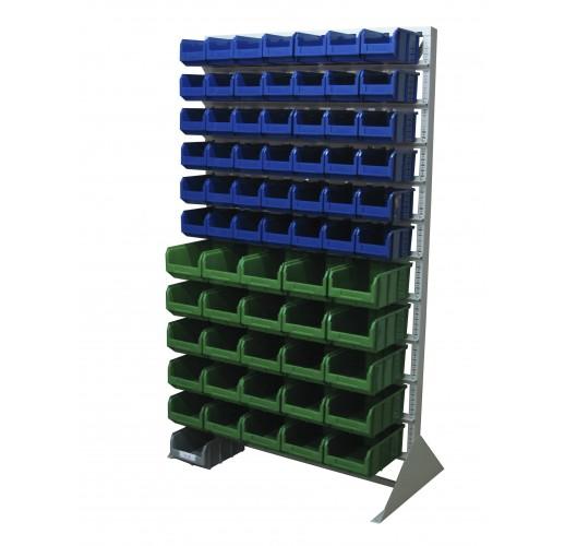 Односторонния напольная стойка с ящиками 1150х2000 Стелла В1-00-06-05