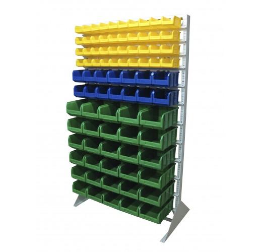 Односторонния напольная стойка с ящиками 1150х2000 Стелла В1-04-02-06