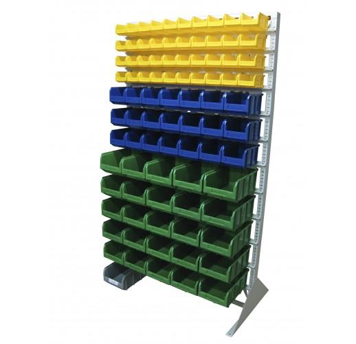 Односторонния напольная стойка с ящиками 1150х2000 Стелла В1-04-03-05