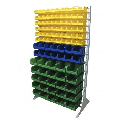 Односторонния напольная стойка с ящиками 1150х2000 Стелла В1-06-02-05
