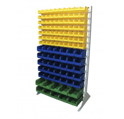 Односторонния напольная стойка с ящиками 1150х2000 Стелла В1-07-05-02