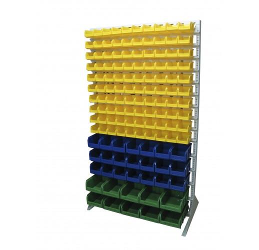 Односторонния напольная стойка с ящиками 1150х2000 Стелла В1-10-03-02