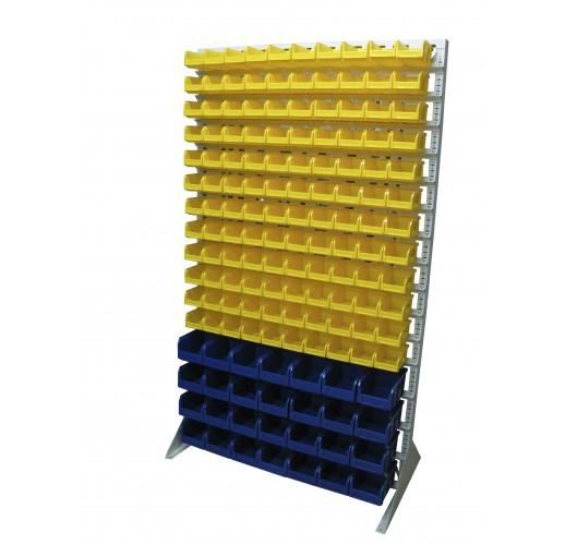Односторонния напольная стойка с ящиками 1150х2000 Стелла В1-12-04-00