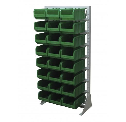 Односторонния напольная стойка с ящиками 735х1500 Стелла А1-00-00-08