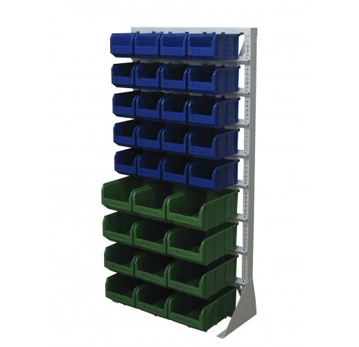 Односторонния напольная стойка с ящиками 735х1500 Стелла А1-00-05-04