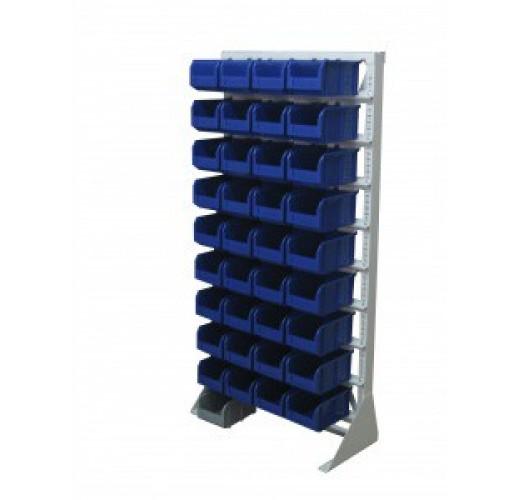 Односторонния напольная стойка с ящиками 735х1500 Стелла А1-00-09-00