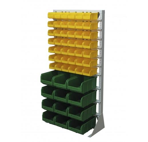 Односторонния напольная стойка с ящиками 735х1500 Стелла А1-07-00-04