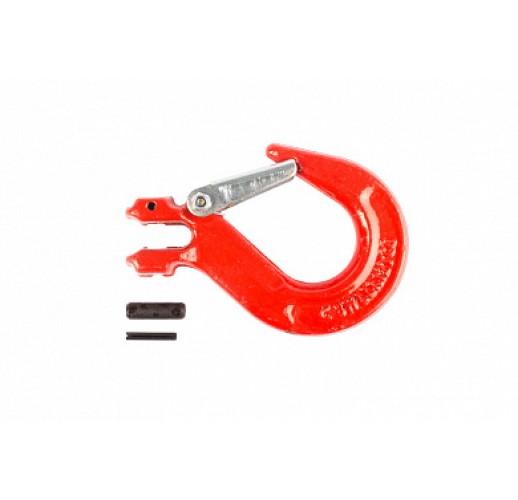 Крюк с вилочным креплением и защелкой г/п 2,0 тн