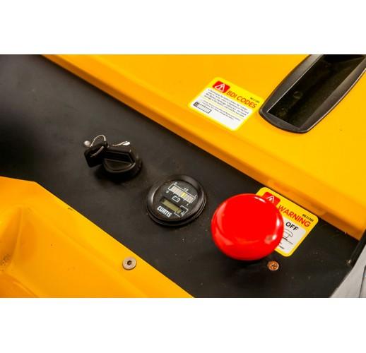 Штабелер электрический самоходный с платформой TOR 1,5т 4,5м ES15T4/4500