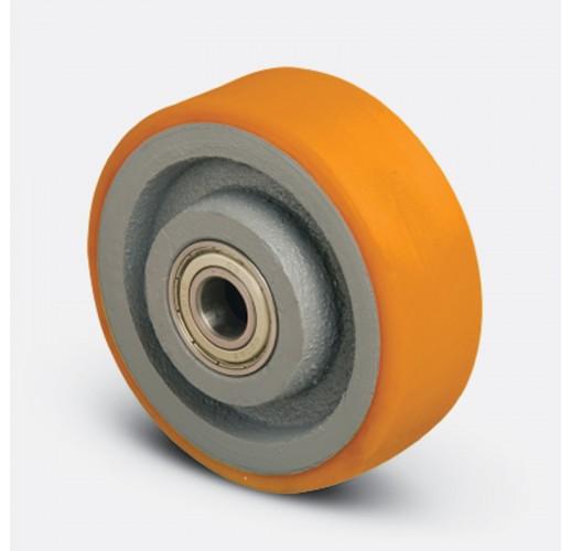 Колесо большегрузное полиуретановое без кронштейна VBP 100