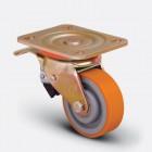 Колесо большегрузное полиуретановое поворотное ED01 VBP 100 F