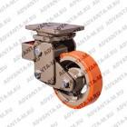 Большегрузное неповоротное полиуретановое колесо EVY02 VBP 200