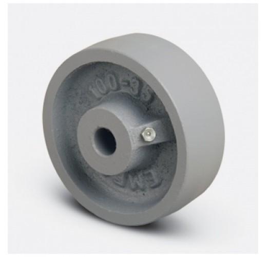 Колесо термостойкое чугунное без кронштейна VKV 125