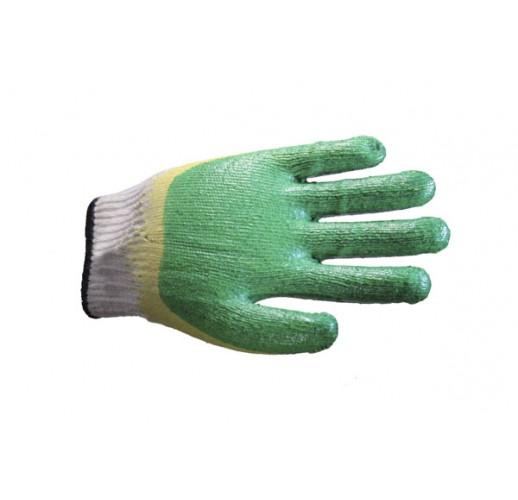 Перчатки х/б с двойным латексным покрытием и полушерстяным вкладышем, утепленные  (упаковка 60 шт)