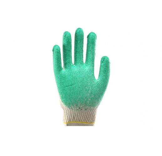 Перчатки с  одинарным латексным покрытием (упаковка 200 шт)