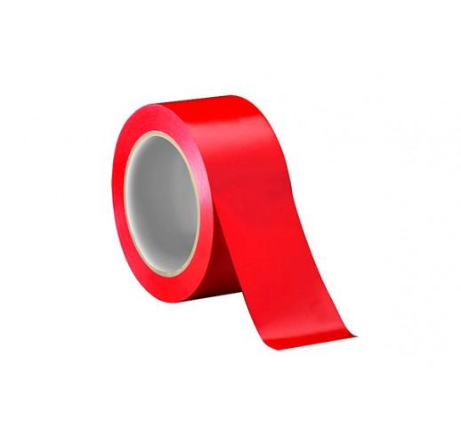 Клейкая лента (скотч) красная 48мм*40м*45мкм  (Упаковка 36 шт.)