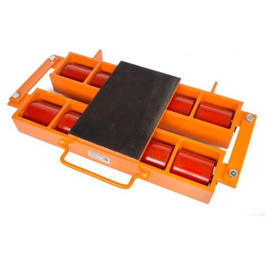 Роликовая платформа подкатная TOR 6000R-08W г/п 6т