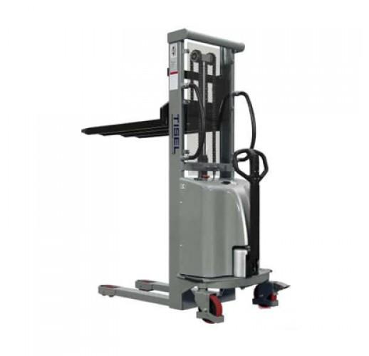 Штабелер гидравлический с электроподъемом TISEL  SES 1516