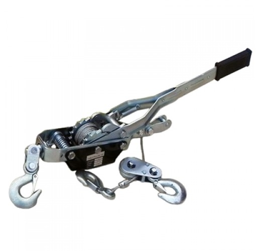 Лебедка ручная рычажная тросовая гаражная  SDBD 2000
