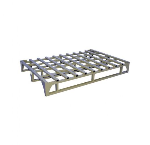 Поддон металлический каркасный ПМК-К Фин (Оцинкованный) RUSKLAD