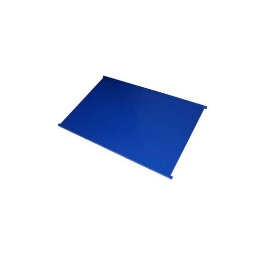 Полка сплошная для сетчатых шкафов 600x900 RUSKLAD