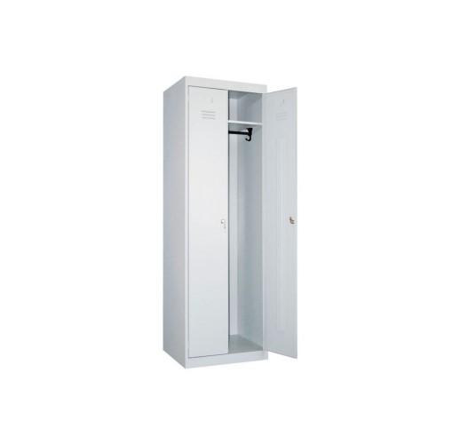 Металлический шкаф для одежды ШР-22-800 цельносварной