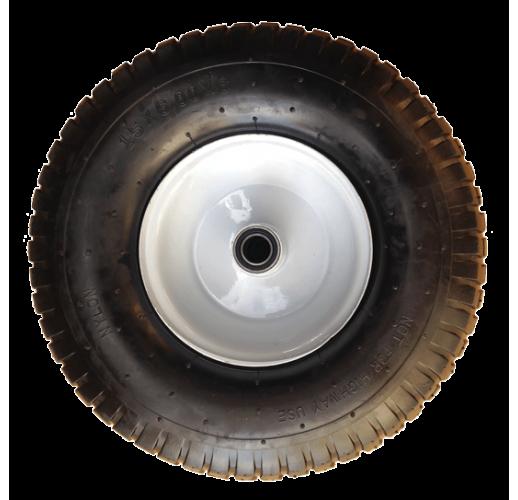 PR 3009 ЖИГУЛИ колесо 350 мм пневматическое ступица 115 мм ось 20 мм