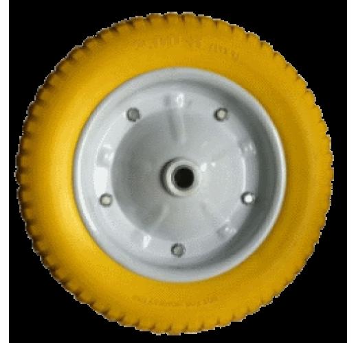 PU 2400 ВИНКО колесо 350 мм Литой вспененный пенополиуретан под ось 20 мм