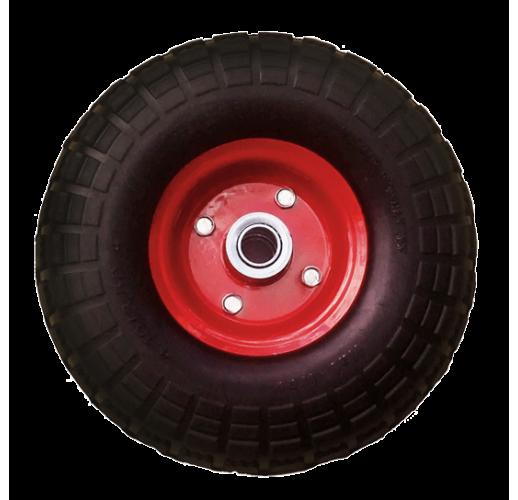 PR 1804 PU колесо 250 мм литой пенополиуретан стальной диск ось 20 мм