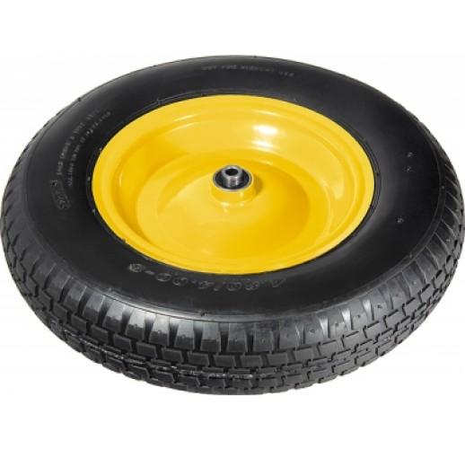 PR 3000 колесо 400 мм пневматическое стальной диск ось 16 мм
