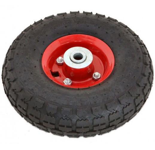 PR 1804 колесо 250 мм пневматическое стальной диск ось 20 мм