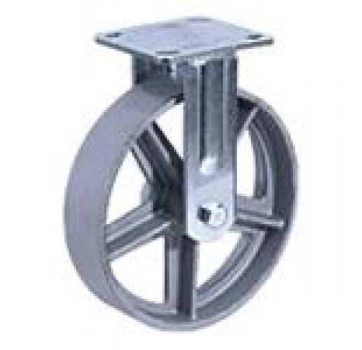 FCs 80 колесо 202 мм неповортное большегрузное термостойкая  (опора неповоротная)