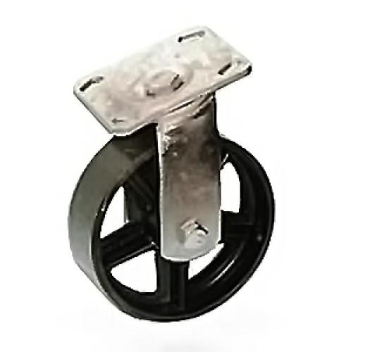 SCs 55 колесо 127 мм бг термостойкая повортная опора (опора поворотная)